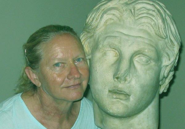 Self-portrait with Apollo