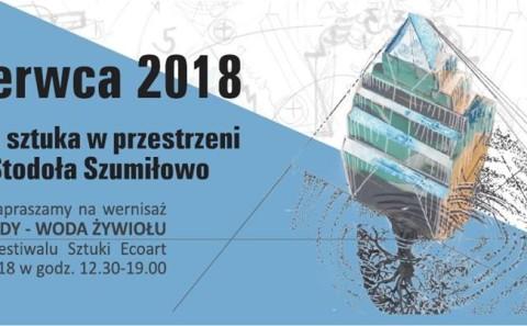 flyer Ecoart Festival '2018 Galeria Stodoł
