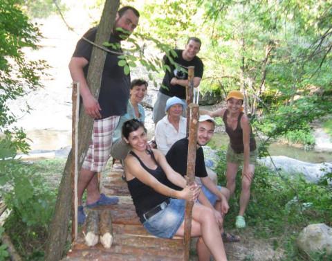 Tanya Preminger and team in Bulgaria