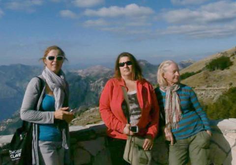 Claudia, Agnessa, Tanya Preminger