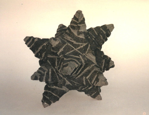 """Starlet"",1999, black granite, 20 x 22 x 20 cm"