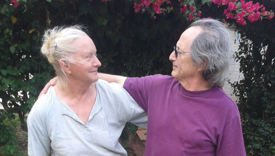 Michael Levitt   and Tanya Preminger. 45 years in contact.