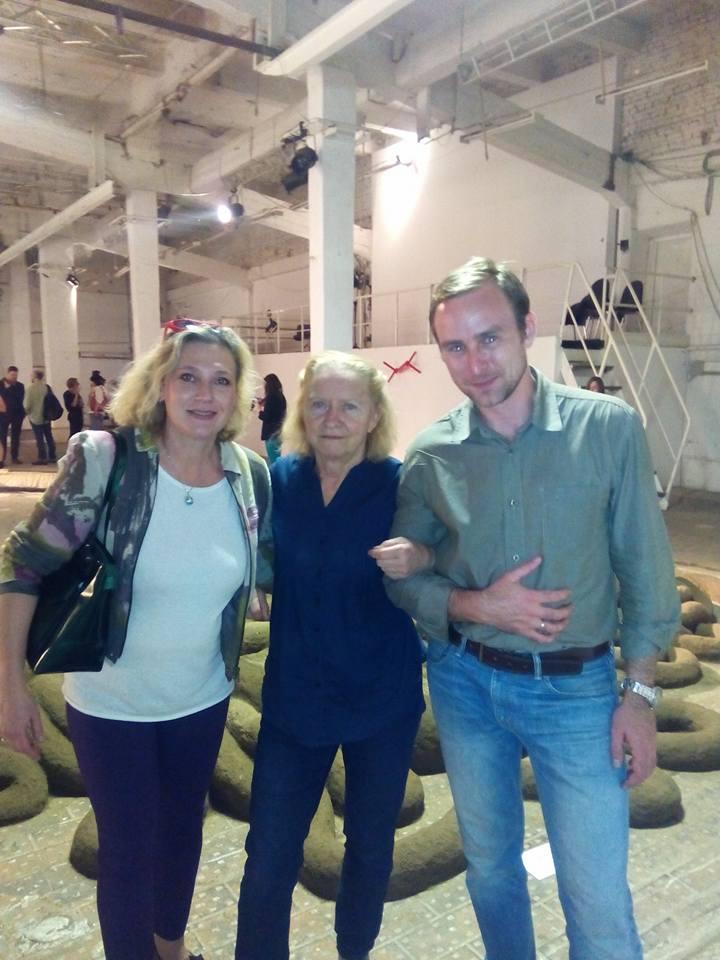 Moskow Biennale of Contemorary Art.Tanya Preminger 2015