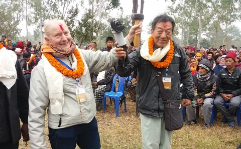 Opening ceremony Unity International Sculpture Symposium NEPAL 2016