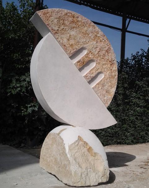"""""""Syncope"""" 2013 Stone Rosh Ha'ein. Israel"""