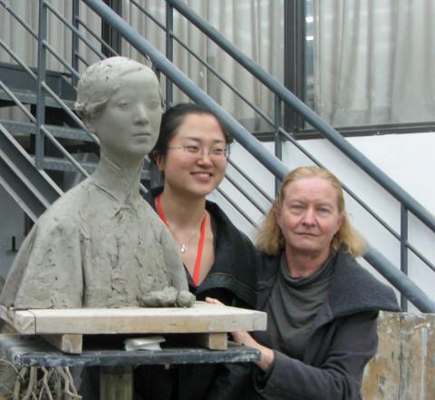 Tanya Preminger in Tsinghua University
