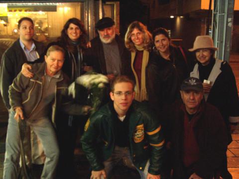 Tanya Preminger and family
