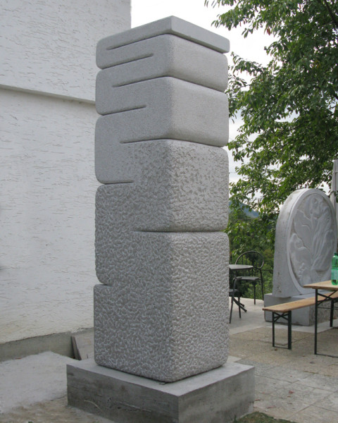 """movement of stone"",2011. stone. Makole, Slovenia"