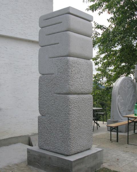 """movement of stone"",2011. stone. Makole, Slovenia"