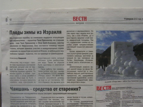 2011 newspaper review