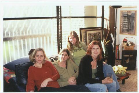 artist tanya preminger mother of 4 daughters